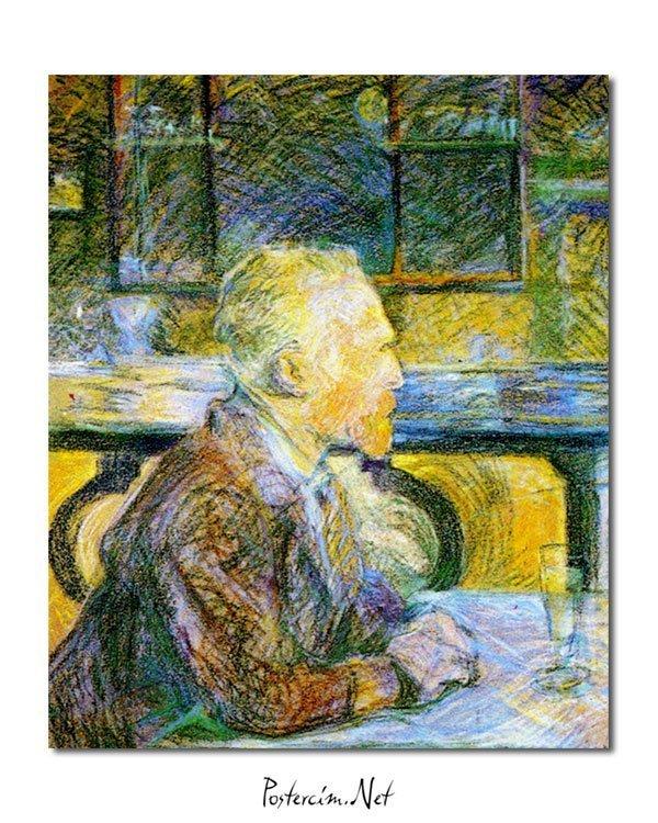 Vincent Van Gogh Lucien Pissaro Vincent en conversation Poster