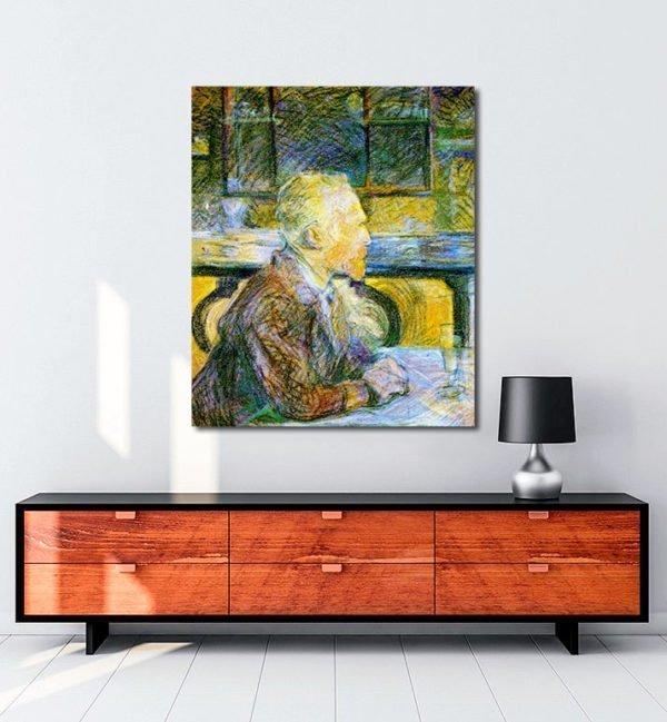 Vincent Van Gogh Lucien Pissaro Vincent en conversation Tablo