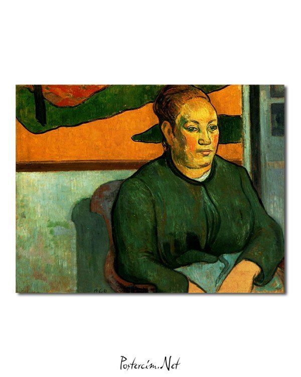Vincent Van Gogh Madame Roulin Poster
