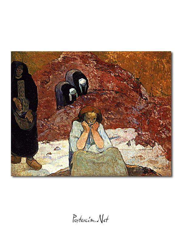 Vincent Van Gogh Misère Humaine Vendanges Poster