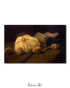 Vincent Van Gogh Nature morte avec choux et sabots Poster