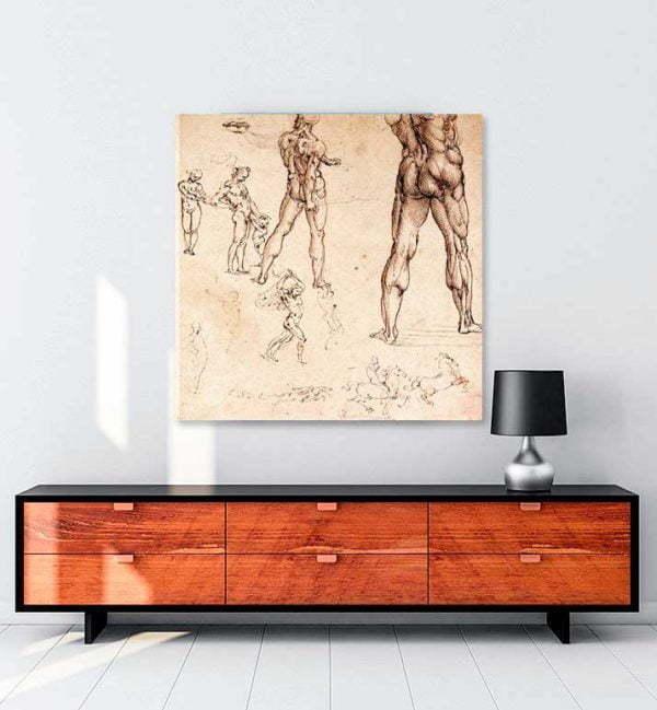 Anatomic Drawing kanvas tablo