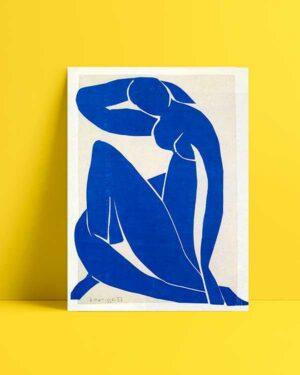 Blue Nude 1952 afiş satın al