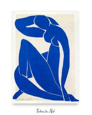 Blue Nude 1952 poster satın al