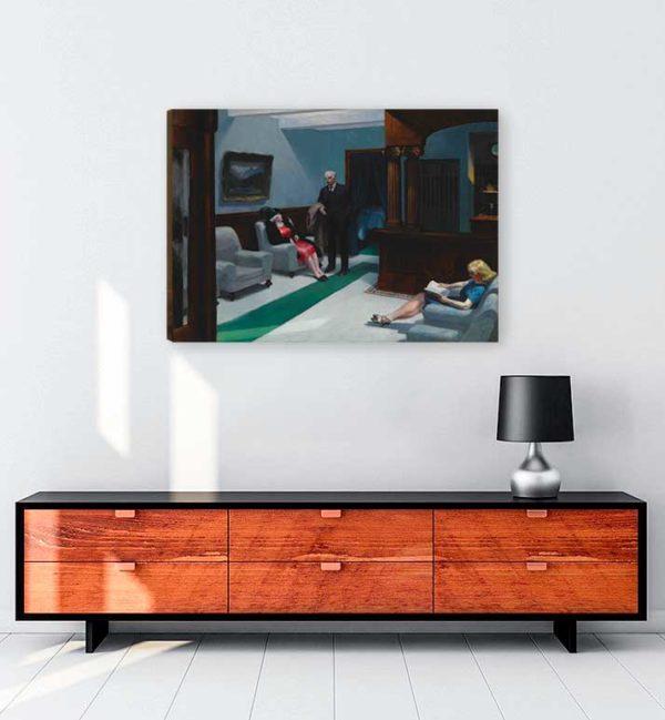 Hotel Lobby kanvas tablo satın al