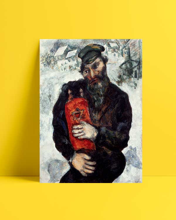 Jew with Torah afiş satın al