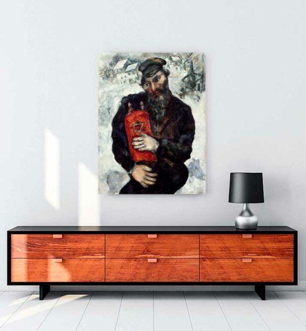 Jew with Torah kanvas tablo satın al