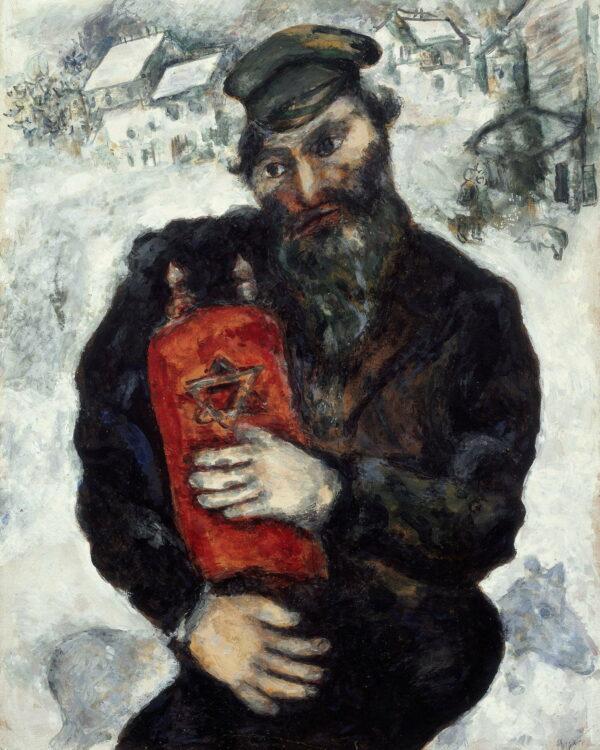 Jew with Torah poster satın al