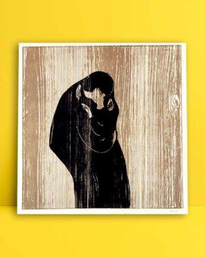 Kiss IV Edvard Munch 1902 afiş satın al