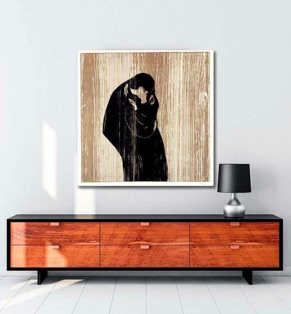 Kiss IV Edvard Munch 1902 kanvas tablo satın al