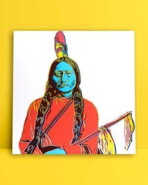Sitting Bull poster satınal