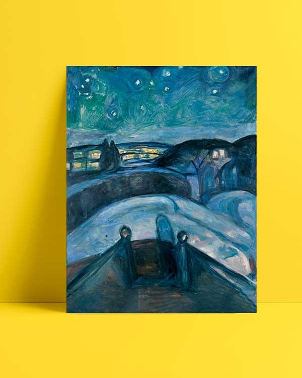 Starry Night afiş satın al