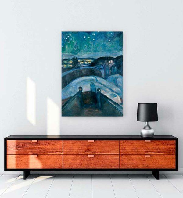 Starry Night kanvas tablo satın al