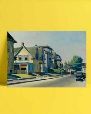 Sun on Prospect Street afiş satın al