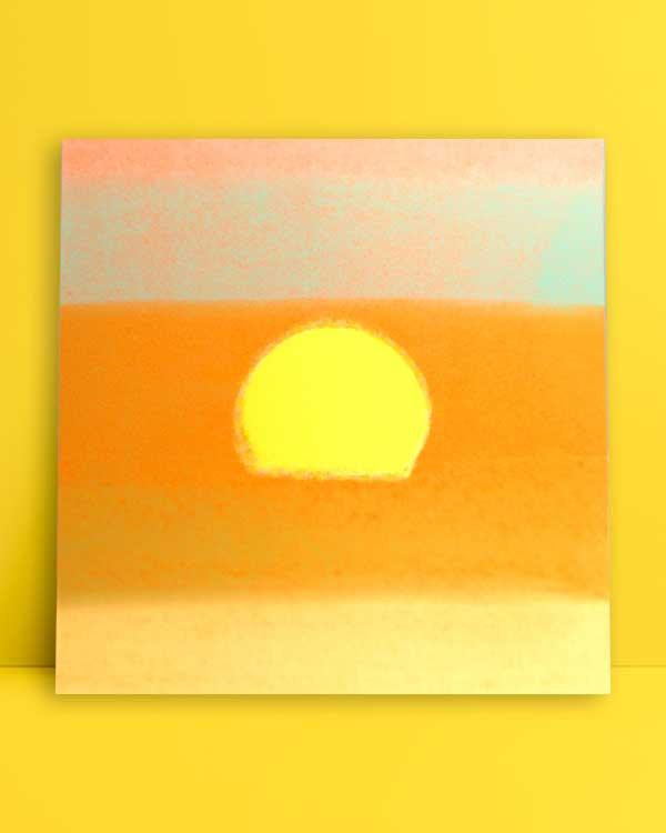 Sunset-afiş-poster-satınal