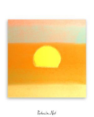 Sunset-poster-satınal
