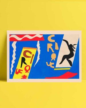 The Circus Jazz 1947 afiş satın al