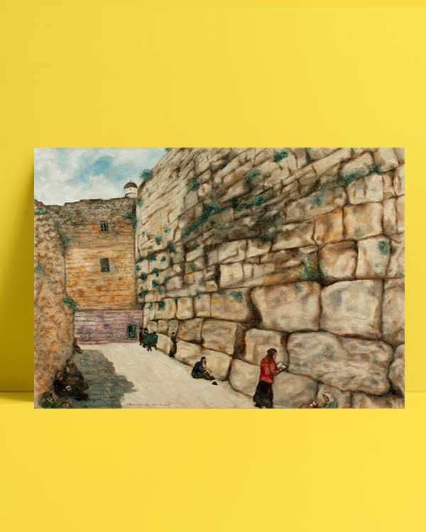 The Wailing Wall afiş satın al