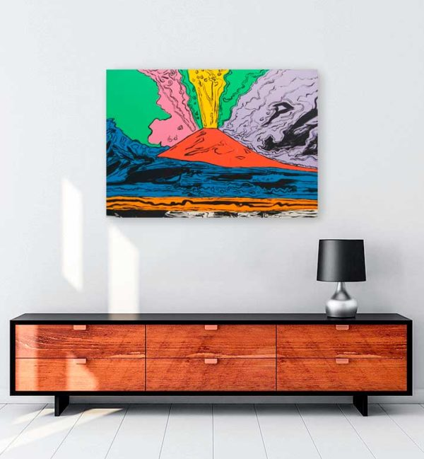 Vesuvius-kanvas-tablo