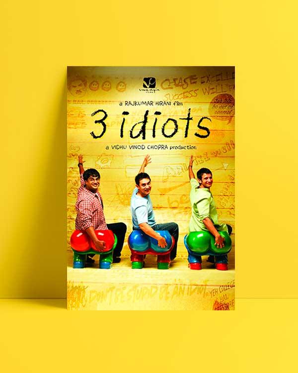 3 İdiots afiş satın al