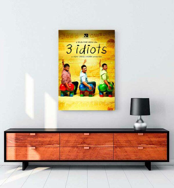 3 İdiots kanvas tablo satın al