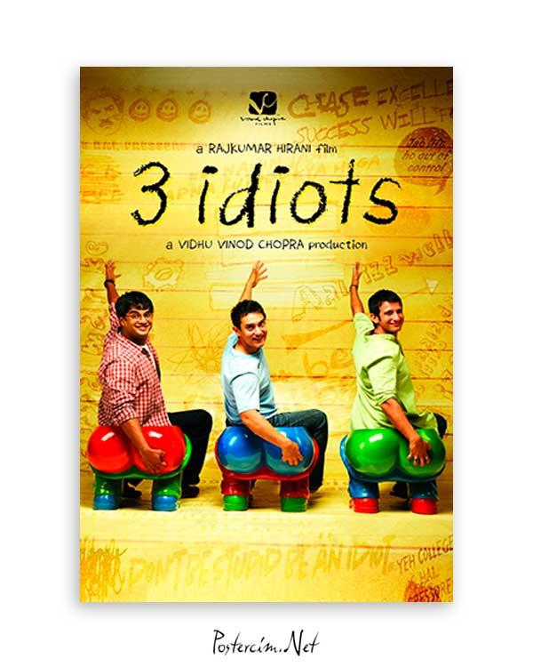 3 İdiots poster satın al