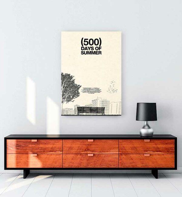 500 Days of Summer 2 kanvas tablo satın al