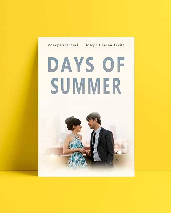 500 Days of Summer 3 film afişi satın al