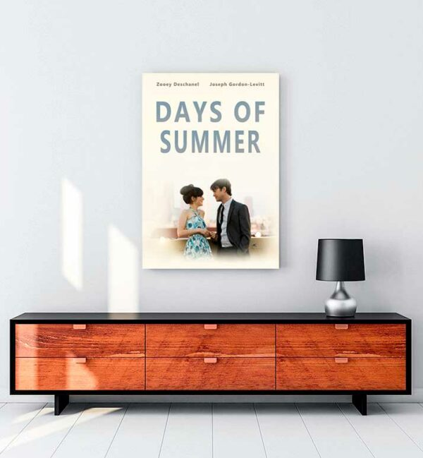 500 Days of Summer 3 kanvas tablo satın al