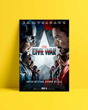 Captain America Civil War afiş satın al