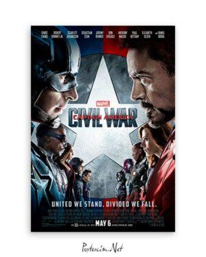 Captain America Civil War poster satın al