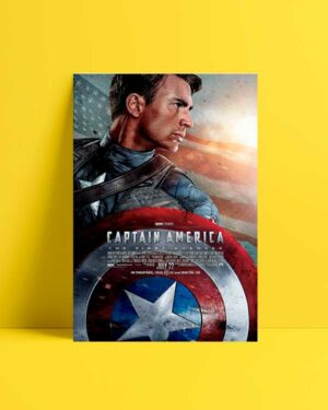 Captain America afiş satın al