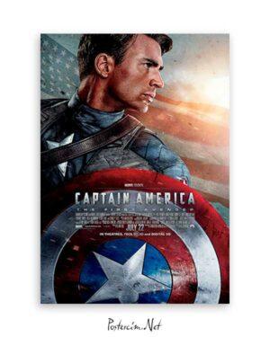 Captain America poster satın al