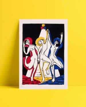 Color Dance afiş satın al