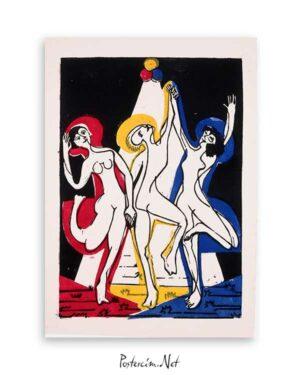 Color Dance poster satın al