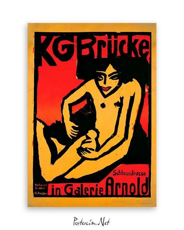 Die Brücke poster satın al