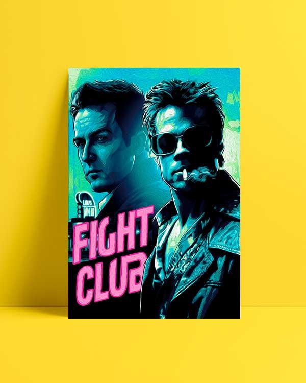 Fight Club 2 film afişi satın al