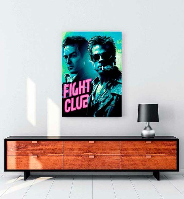 Fight Club 2 kanvas tablo satın al