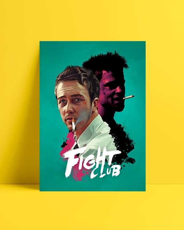 Fight Club film afişi satın al