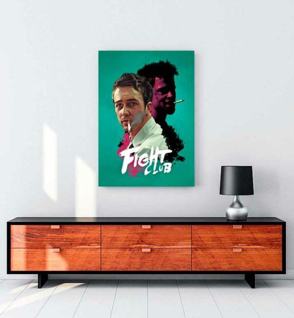 Fight Club kanvas tablo satın al