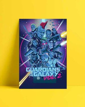 Guardians of the Galaxy 2 afiş satın al