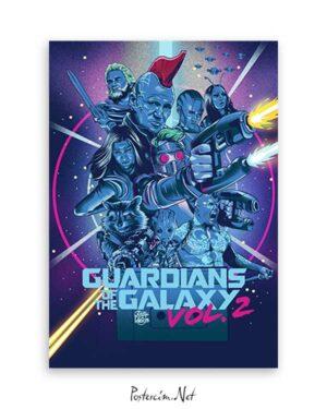 Guardians of the Galaxy 2 poster satın al