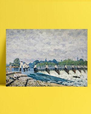 Molesey Weir posteri