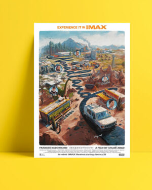 Nomadland film posteri