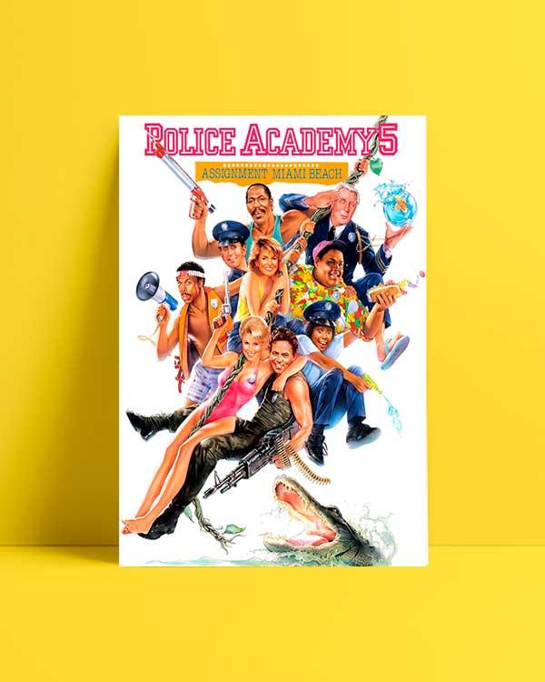 Police Academy 5 film afişi satın al