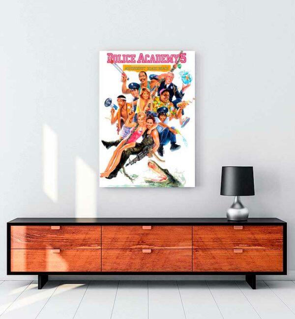 Police Academy 5 kanvas tablo satın al