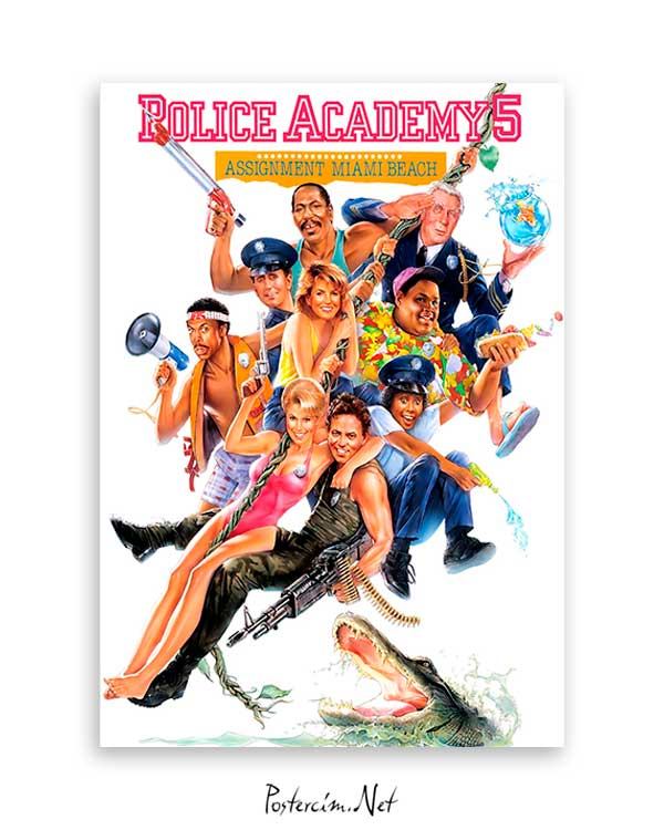 Police Academy 5 poster satın al
