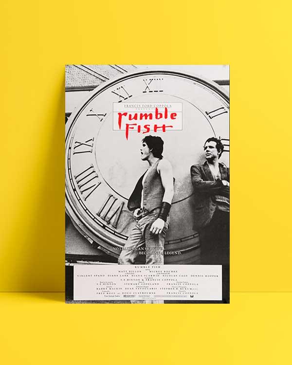 Rumble Fish afiş satın al