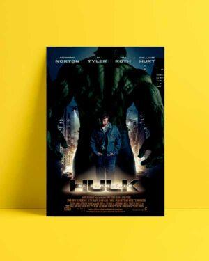 The Incredible Hulk 2008 afiş satın al