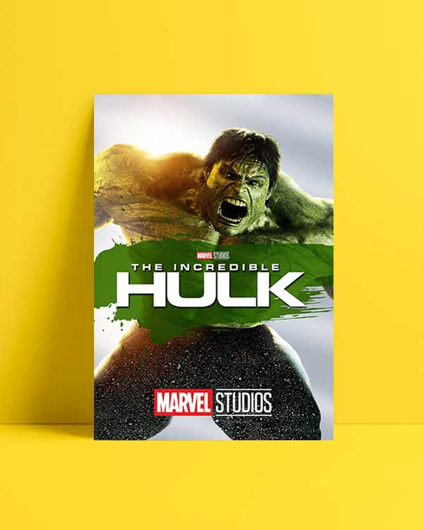 The Incredible Hulk afiş satın al